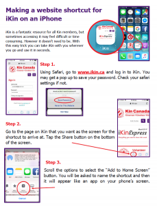 Howto ikin for iphone